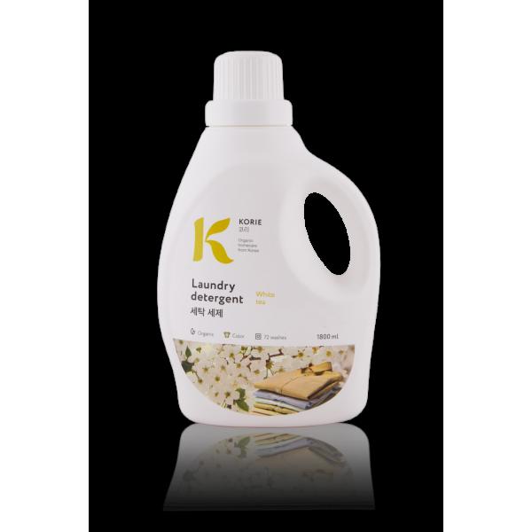 """Натуральное жидкое средство для стирки Korie """"Белый чай"""""""